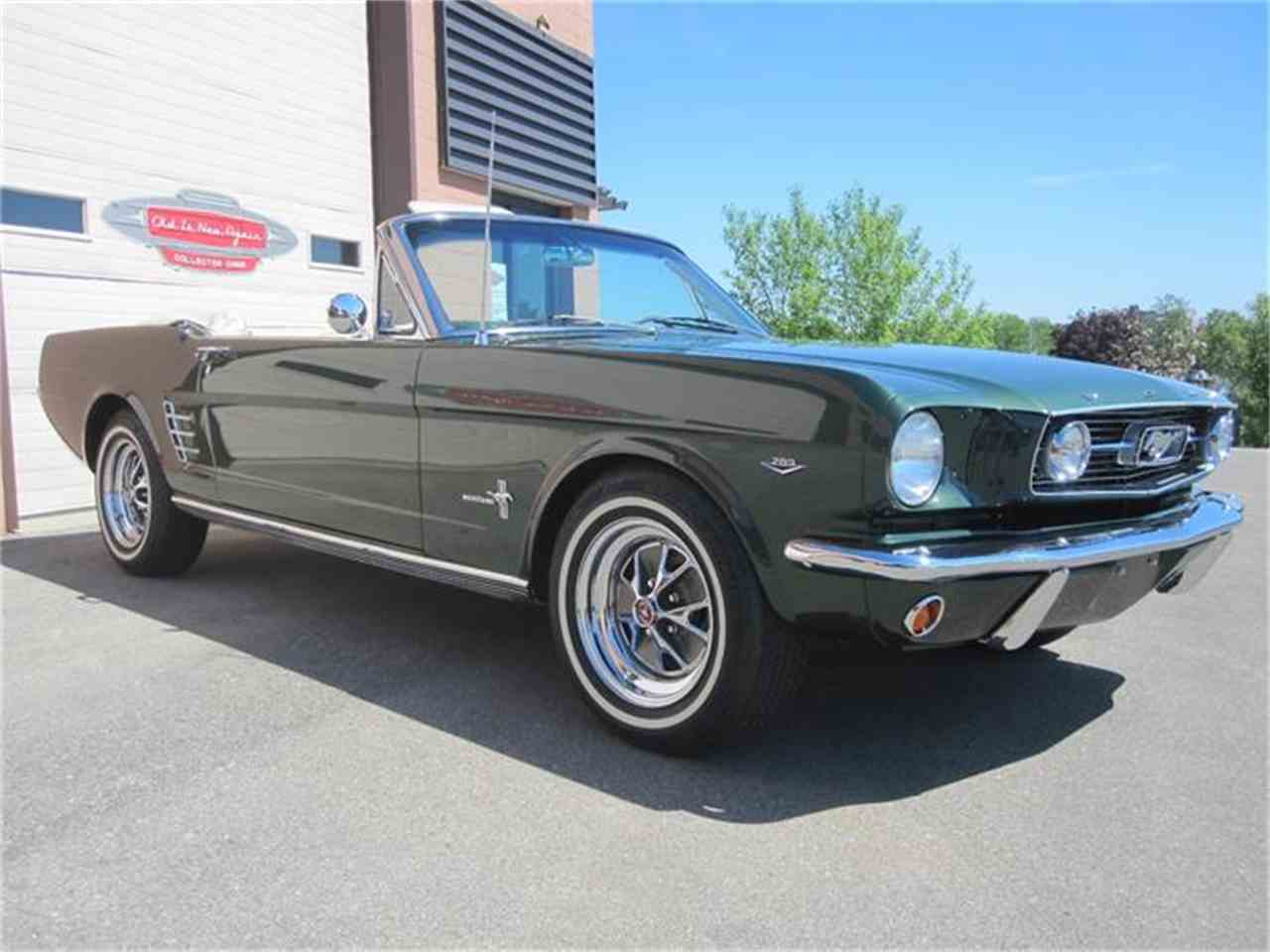 Large Picture of '66 Ford Mustang located in Waterloo Ontario Auction Vehicle - EQIC