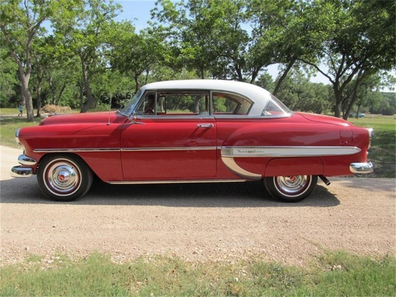Large Picture of Classic '54 Chevrolet Bel Air Offered by TX Collector Classic Cars - ET88