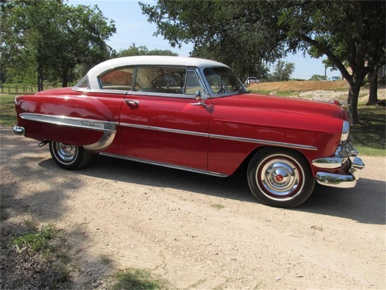 Large Picture of Classic '54 Bel Air located in Liberty Hill Texas Offered by TX Collector Classic Cars - ET88