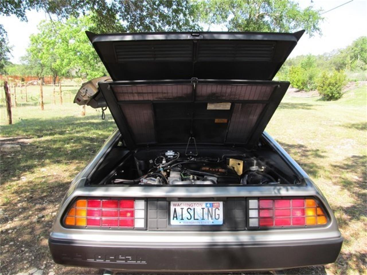 Large Picture of 1981 DeLorean DMC-12 located in Liberty Hill Texas - ET8B