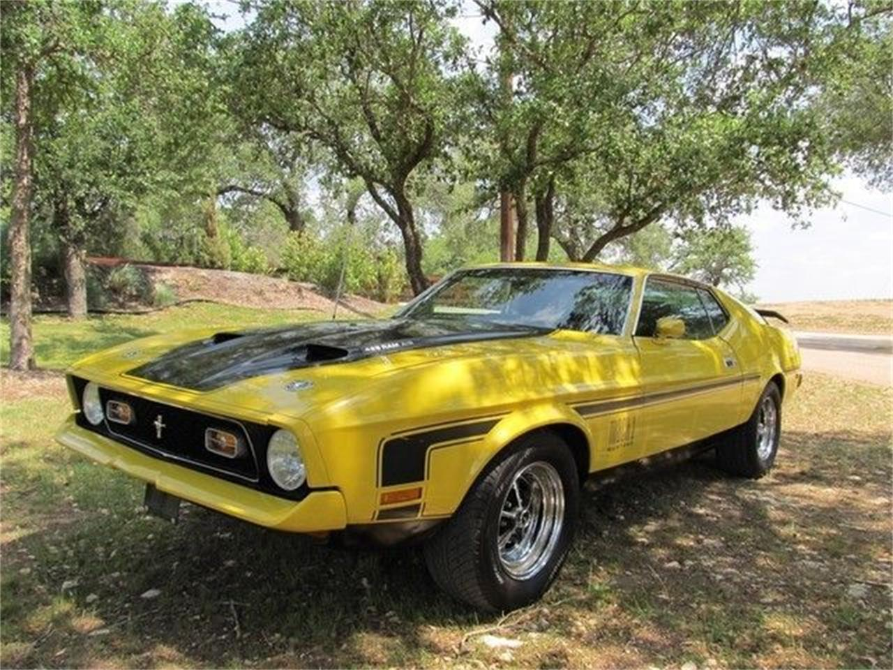 Large Picture of 1971 Mustang located in Liberty Hill Texas Offered by TX Collector Classic Cars - ET8M