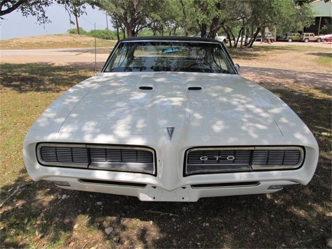 Large Picture of Classic 1968 GTO located in Liberty Hill Texas - $35,900.00 - ET8R