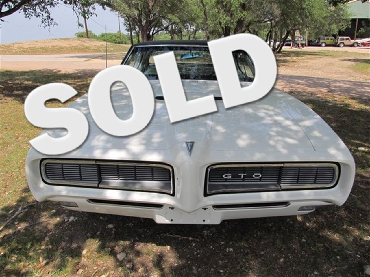 Large Picture of Classic 1968 Pontiac GTO located in Texas - $35,900.00 Offered by TX Collector Classic Cars - ET8R