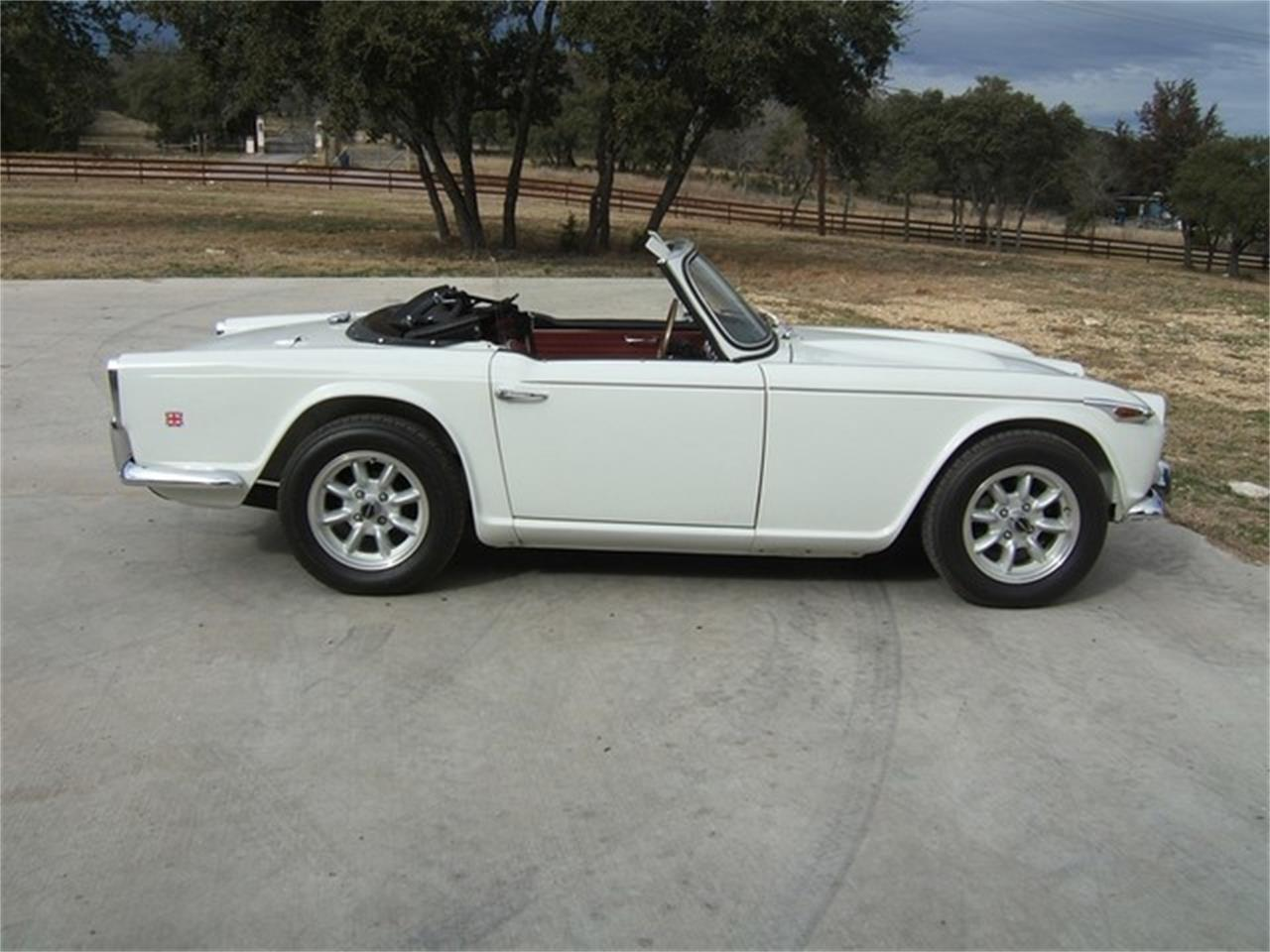 Large Picture of '67 TR4 - ET8X