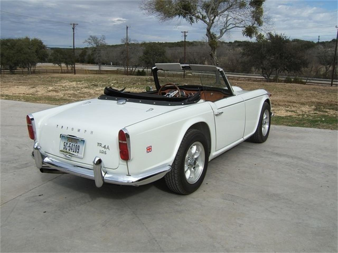 Large Picture of 1967 Triumph TR4 Offered by TX Collector Classic Cars - ET8X