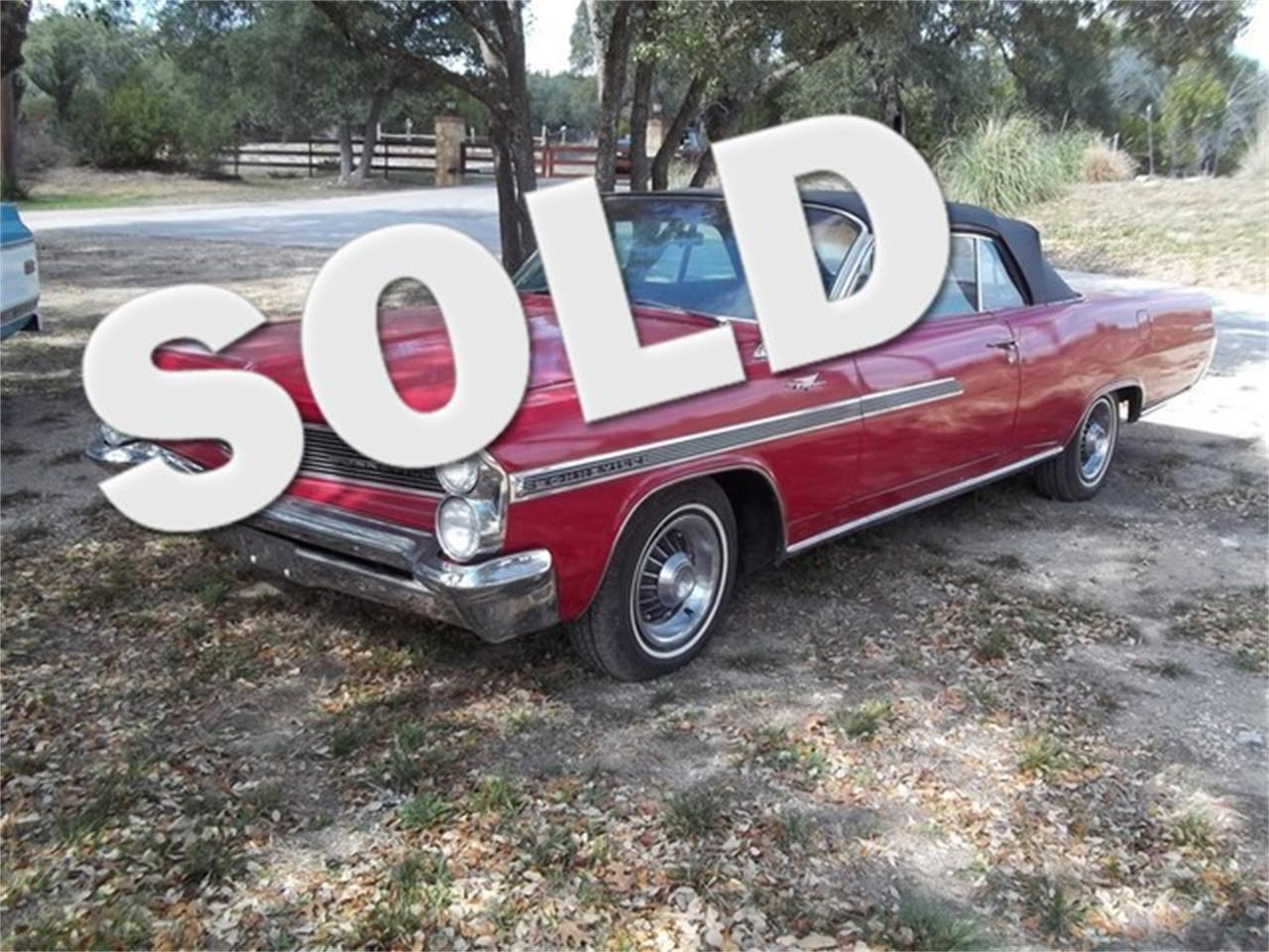 Large Picture of '63 Pontiac Bonneville located in Liberty Hill Texas - $21,900.00 Offered by TX Collector Classic Cars - ET95