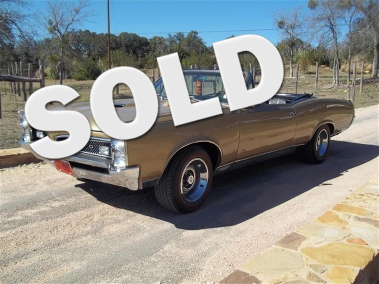 Large Picture of Classic 1967 GTO located in Liberty Hill Texas - $77,000.00 - ET97