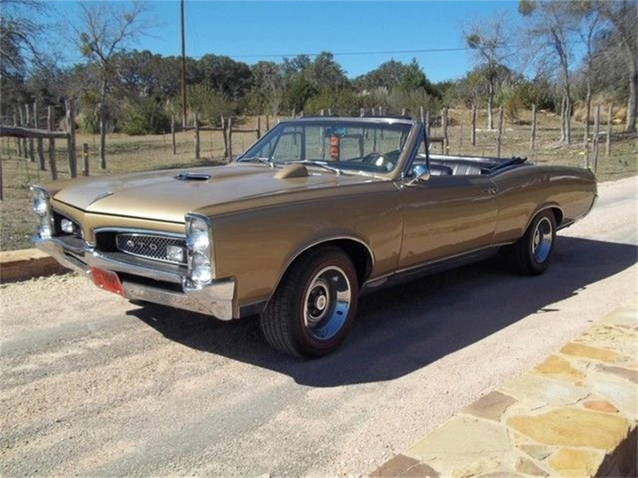 Large Picture of Classic 1967 GTO located in Texas - $77,000.00 Offered by TX Collector Classic Cars - ET97
