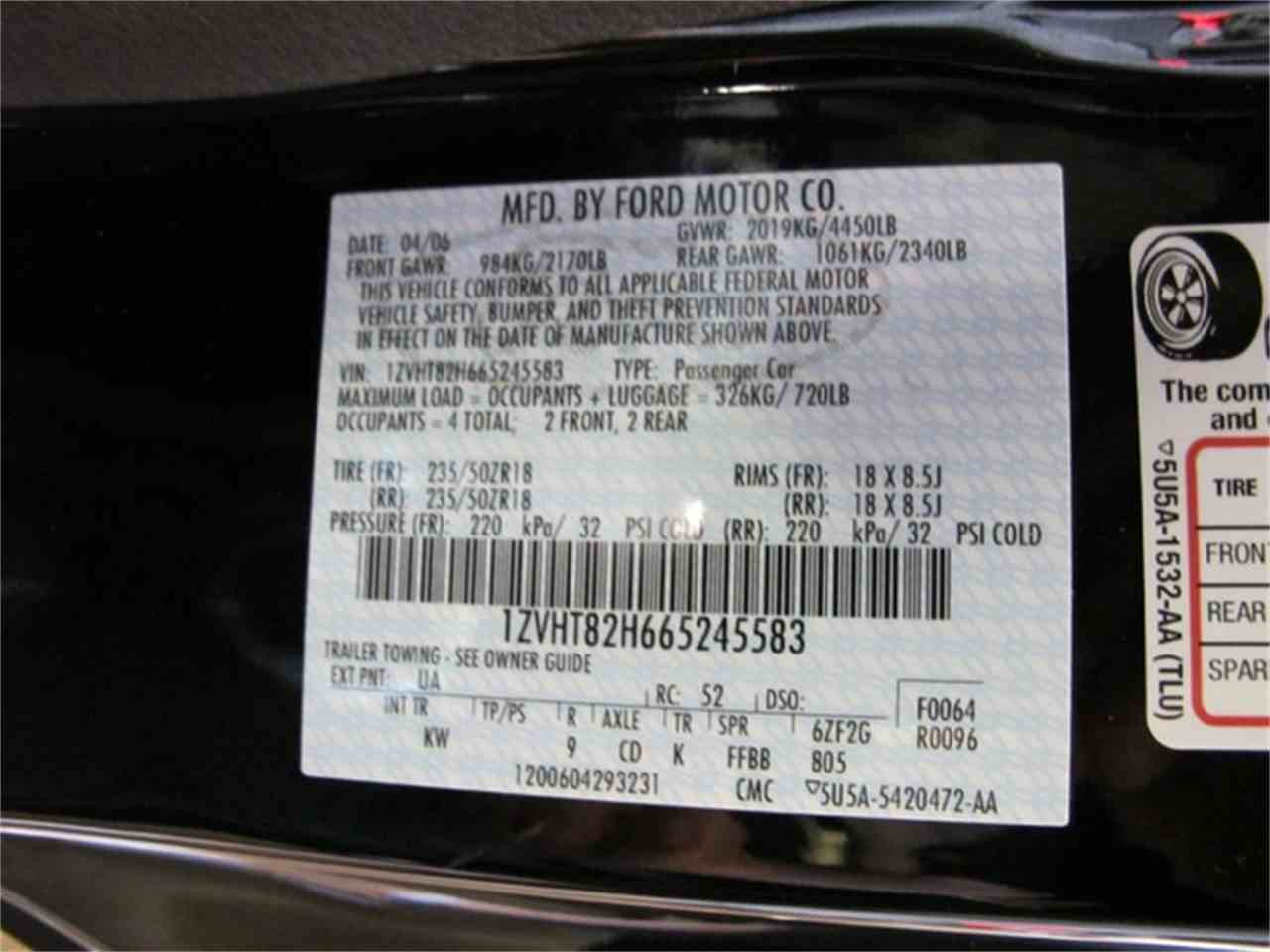 Large Picture of '06 Mustang located in Ohio Offered by R&H Motor Car Group - ETC2