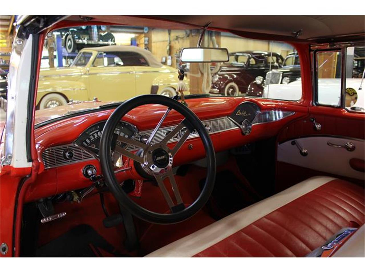 Large Picture of '56 Chevrolet Bel Air located in Lynden Washington Offered by Imports & Classics - ETFF