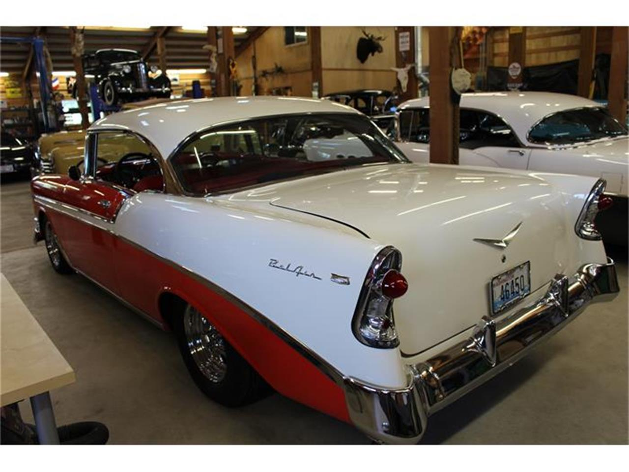 Large Picture of Classic '56 Chevrolet Bel Air located in Lynden Washington Offered by Imports & Classics - ETFF