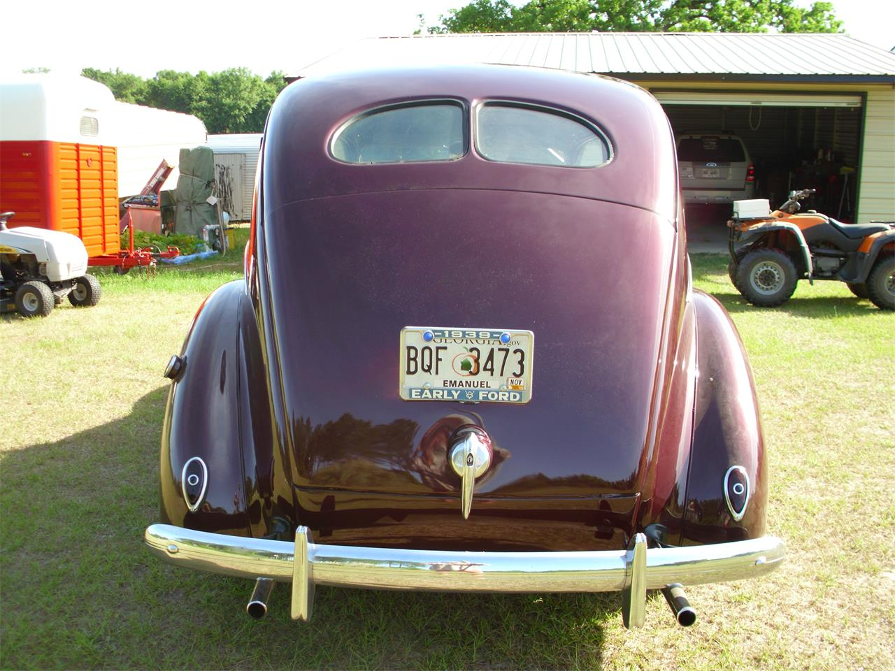 Large Picture of Classic '39 Fordor Deluxe - ETZZ