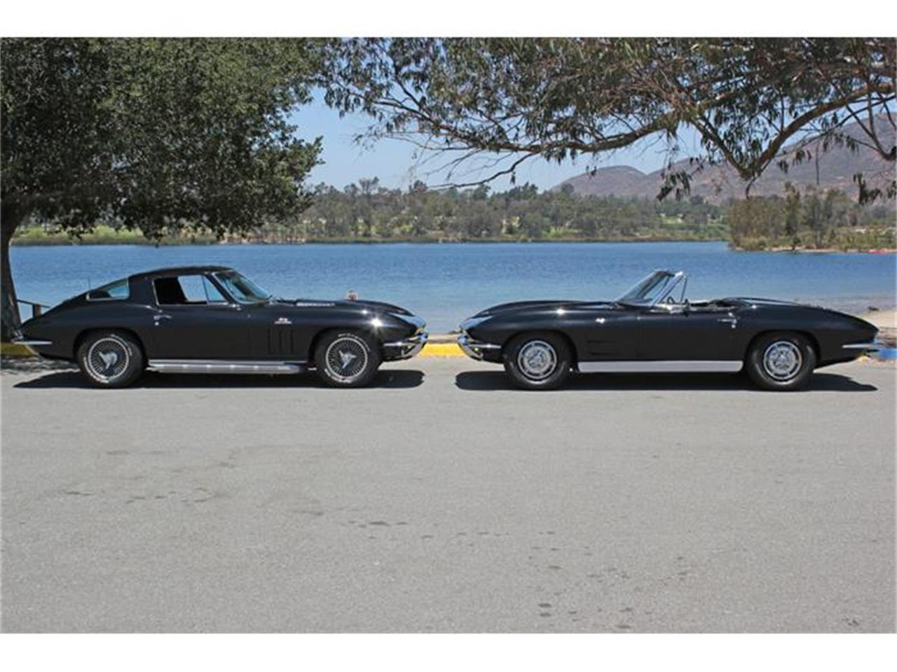 Large Picture of Classic '66 Corvette located in San Diego California Offered by Precious Metals - EU77