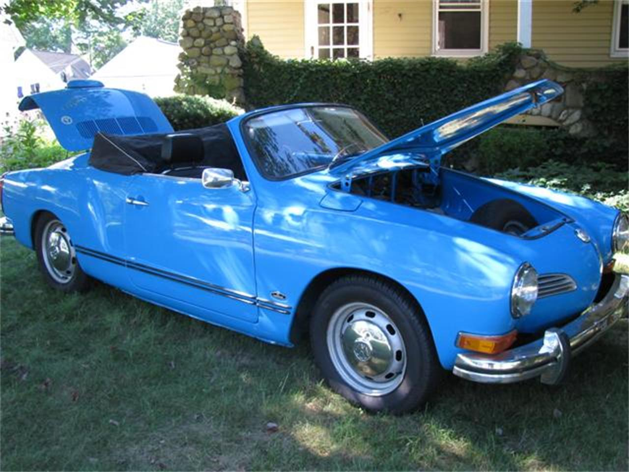 Large Picture of Classic 1973 Karmann Ghia located in Naples Florida Offered by a Private Seller - EV9I