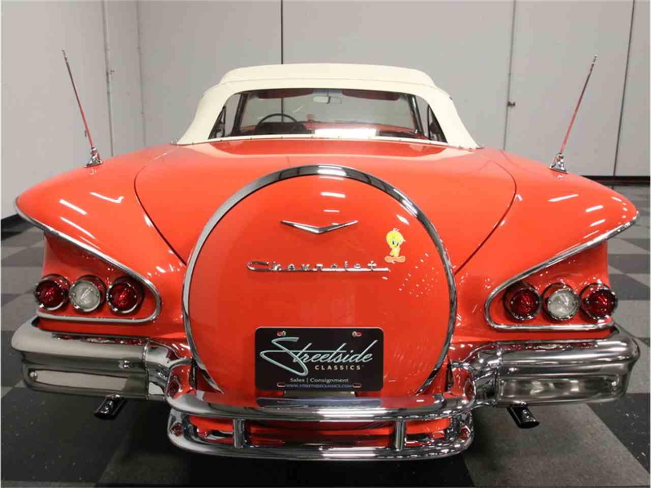 Large Picture of Classic '58 Impala located in Lithia Springs Georgia - EVGO
