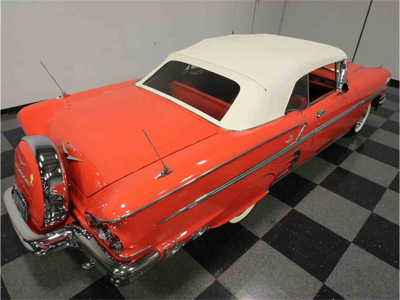 Large Picture of Classic 1958 Chevrolet Impala located in Lithia Springs Georgia - $106,995.00 Offered by Streetside Classics - Atlanta - EVGO