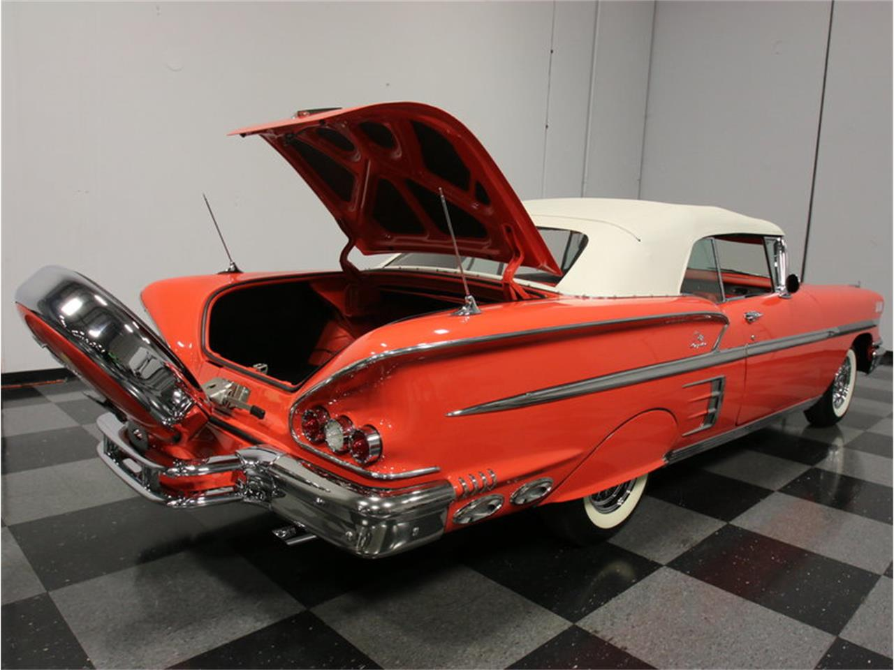 Large Picture of Classic 1958 Impala located in Georgia Offered by Streetside Classics - Atlanta - EVGO