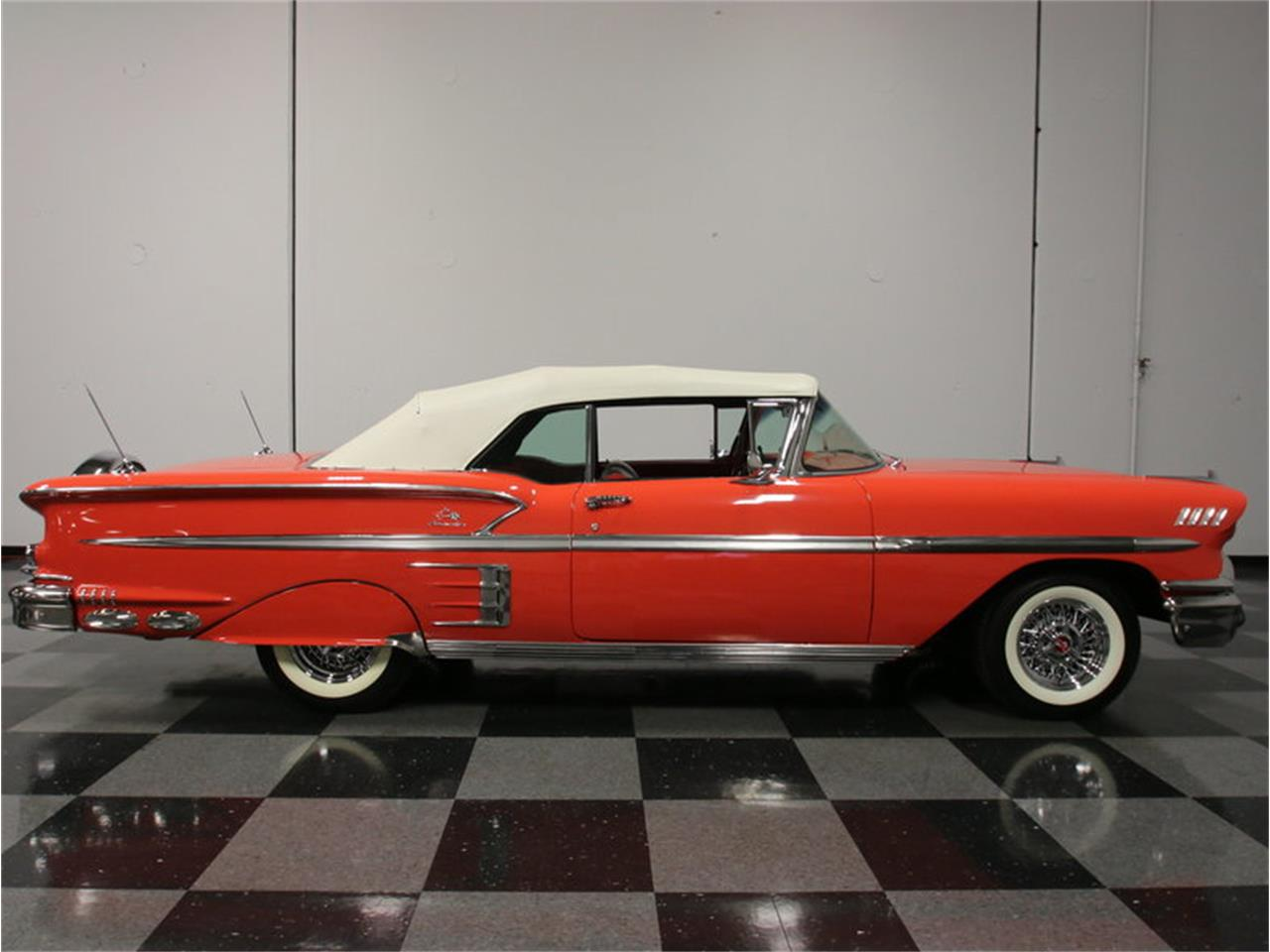 Large Picture of '58 Impala - $106,995.00 Offered by Streetside Classics - Atlanta - EVGO