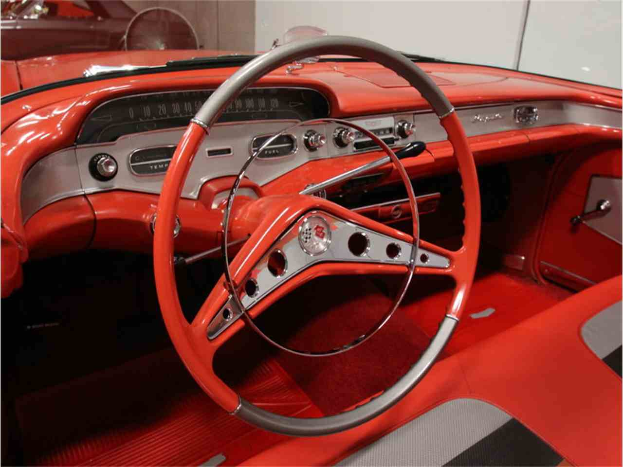 Large Picture of Classic '58 Chevrolet Impala - $106,995.00 Offered by Streetside Classics - Atlanta - EVGO
