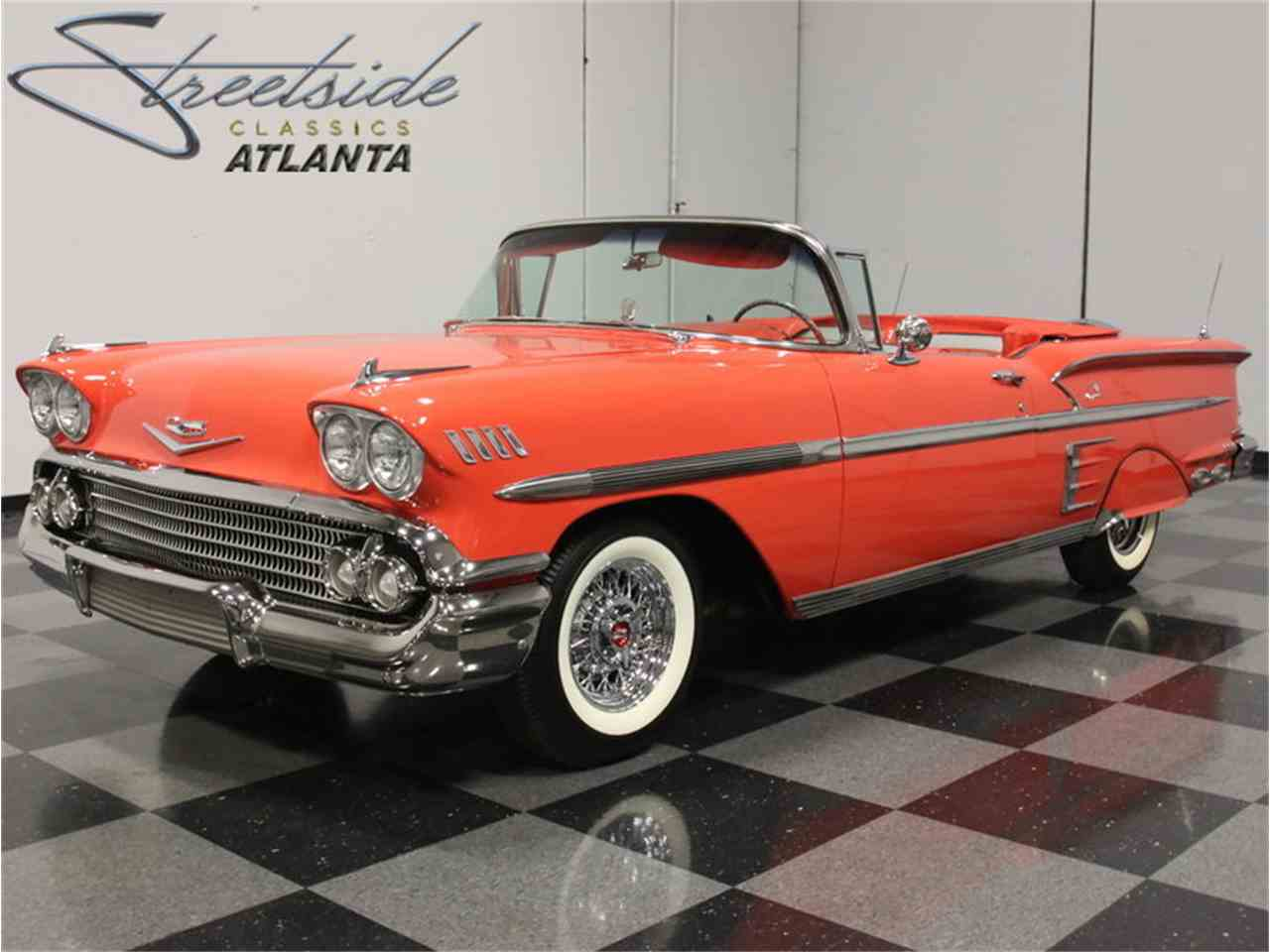Large Picture of Classic '58 Impala Offered by Streetside Classics - Atlanta - EVGO