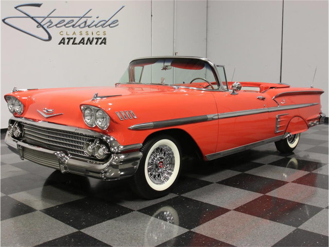 Large Picture of Classic '58 Impala located in Georgia - $106,995.00 Offered by Streetside Classics - Atlanta - EVGO
