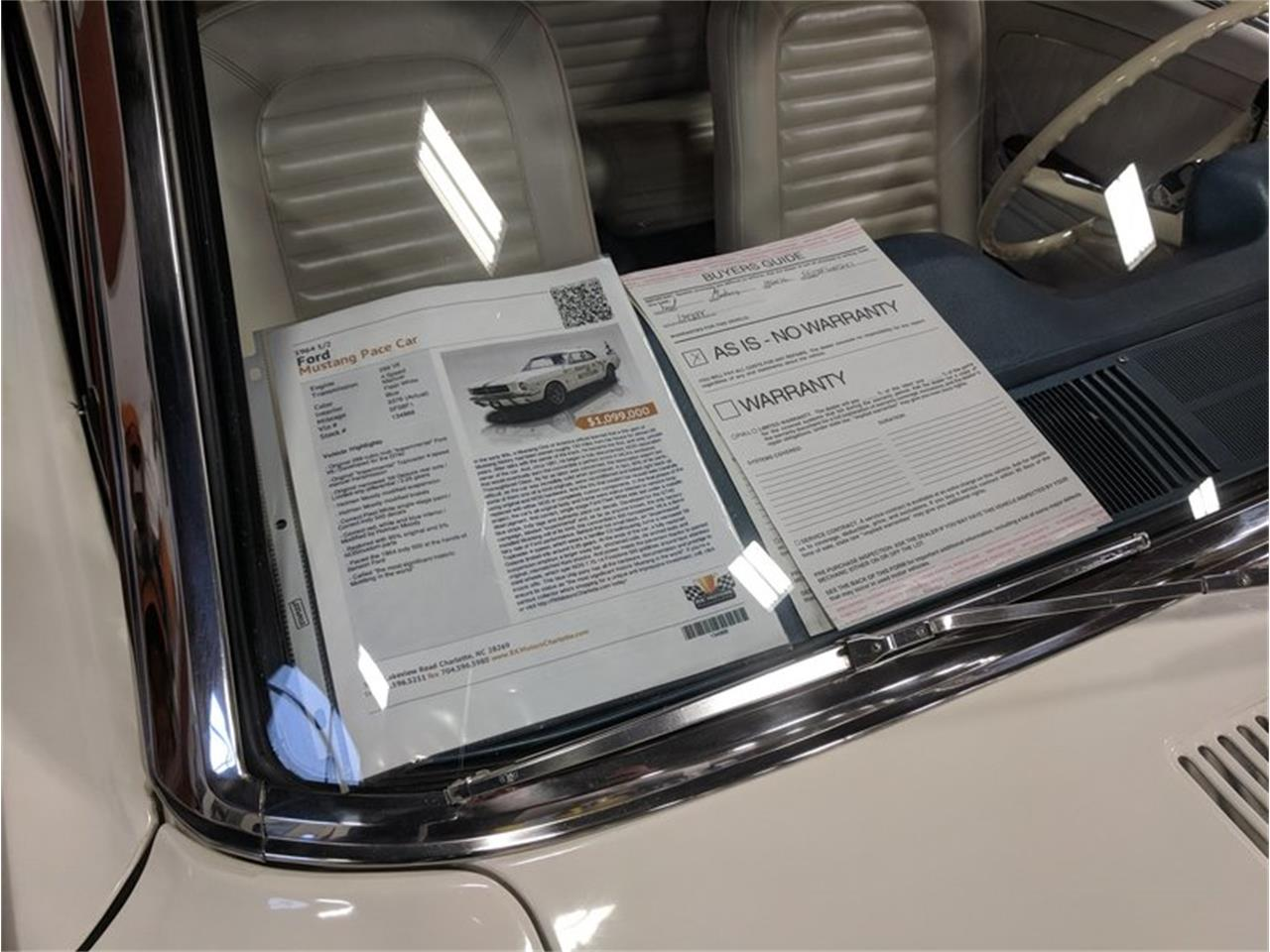 Large Picture of Classic '64 Ford Mustang located in North Carolina - $1,099,000.00 Offered by RK Motors Charlotte - EXI4