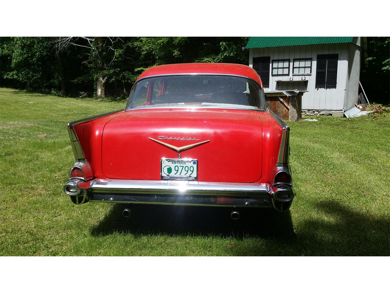 Large Picture of Classic 1957 Bel Air located in New Hampshire Offered by a Private Seller - ESZE