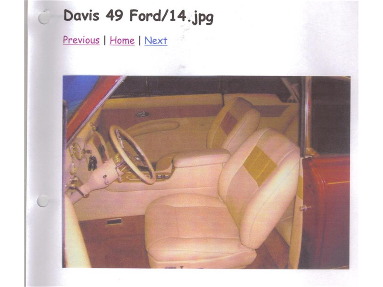 Large Picture of Classic '49 Ford 2-Dr Sedan - $50,000.00 Offered by a Private Seller - EYA9