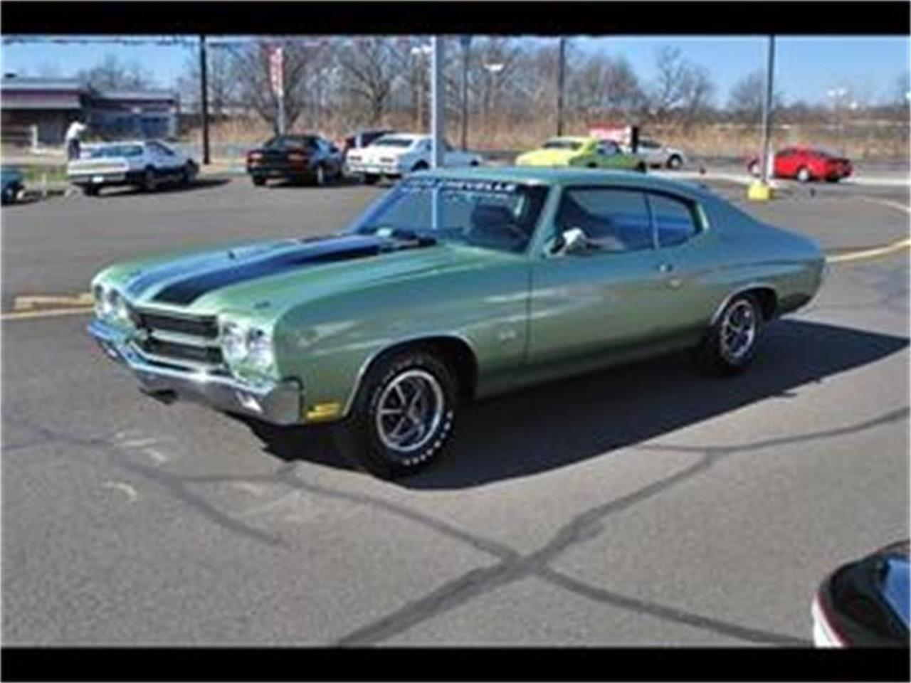Large Picture of 1970 Chevelle SS located in Bristol Pennsylvania Auction Vehicle - EYH4