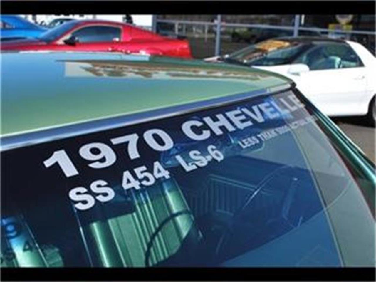 Large Picture of 1970 Chevelle SS located in Bristol Pennsylvania Offered by L.R.A. Enterprises Auto Museum & Sales - EYH4