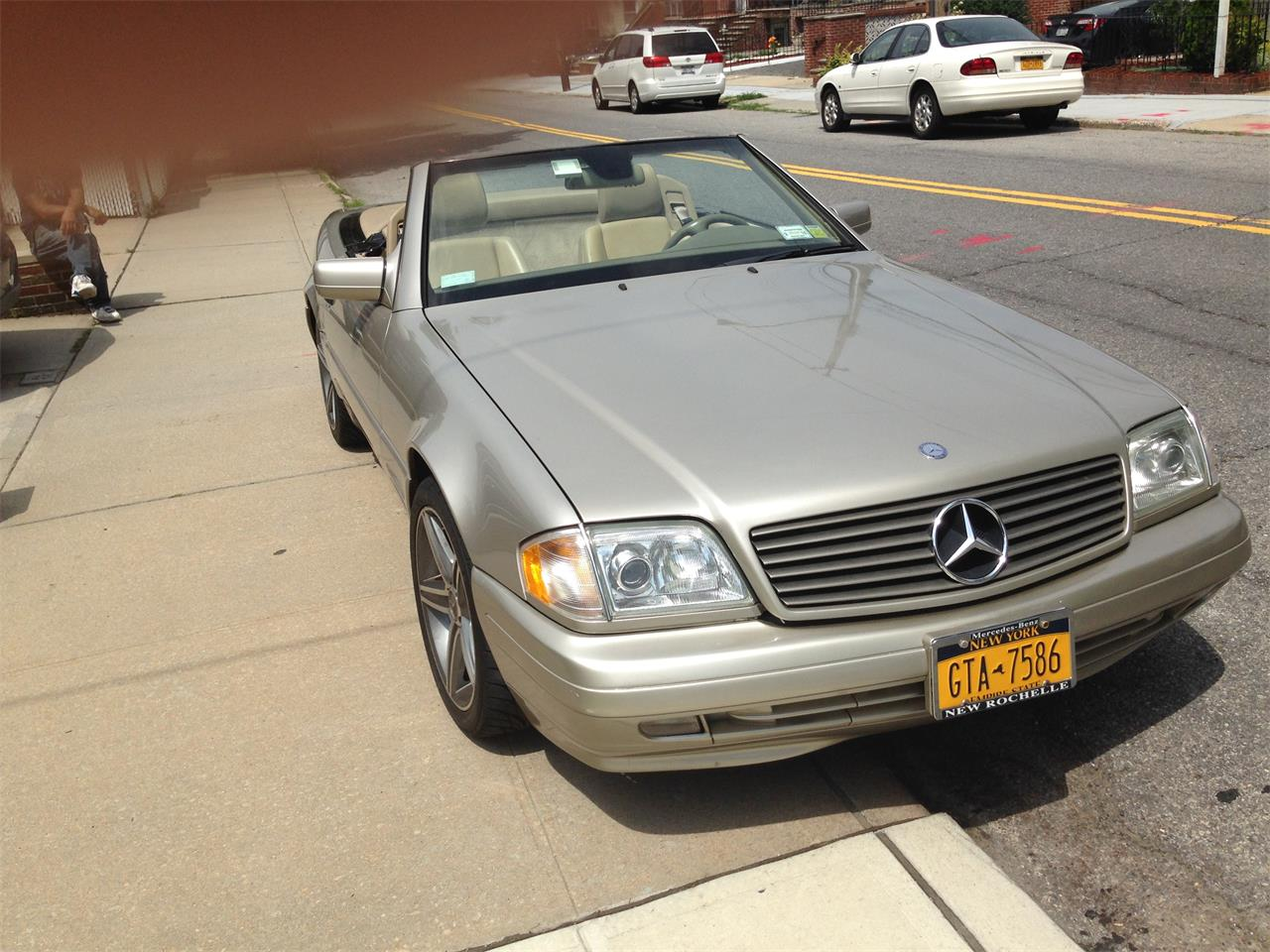 Large Picture of '98 Mercedes-Benz SL500 located in Middle Village     queens New York - $7,900.00 - EYIB