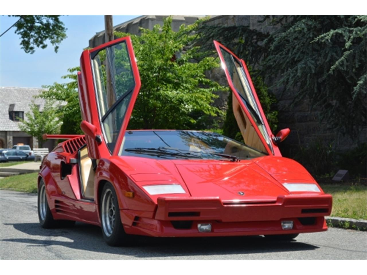 Large Picture of 1989 Countach located in Astoria New York Offered by Gullwing Motor Cars - EYKT
