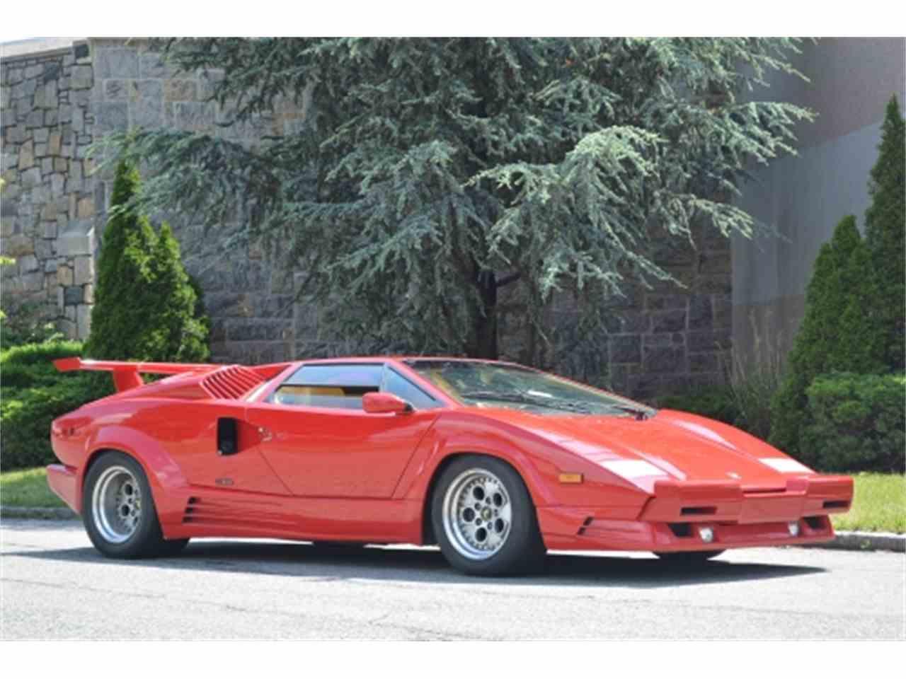1989 Lamborghini Countach For Sale Classiccars Com Cc