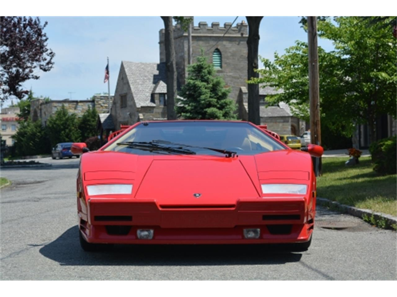 Large Picture of '89 Lamborghini Countach located in Astoria New York Offered by Gullwing Motor Cars - EYKT