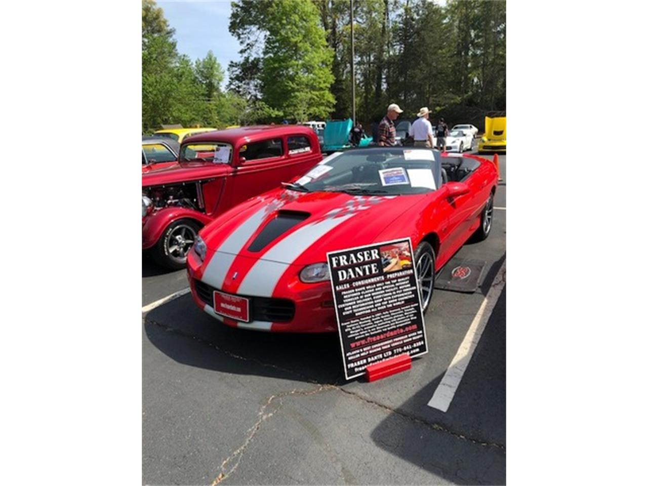 Large Picture of '02 Chevrolet Camaro Offered by Fraser Dante - F0Y5