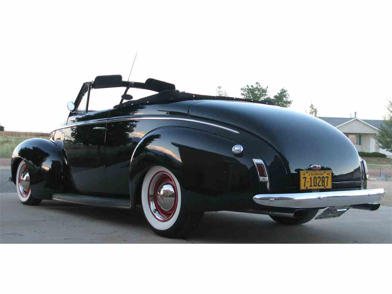 1940 mercury convertible for sale cc 701132. Black Bedroom Furniture Sets. Home Design Ideas