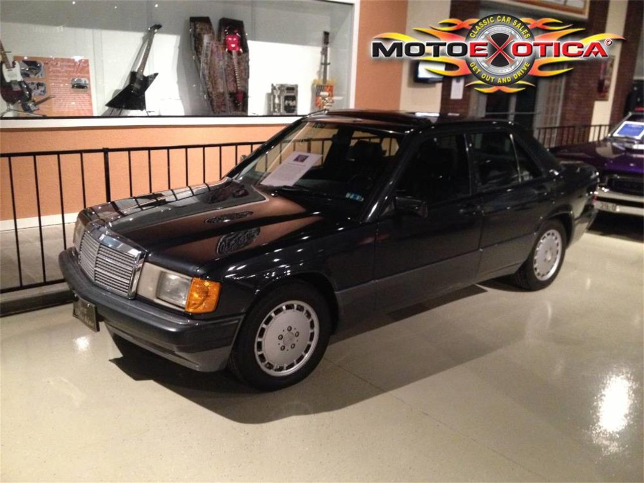 Large Picture of '92 Mercedes-Benz 190E Auction Vehicle Offered by MotoeXotica Classic Cars - F1FI