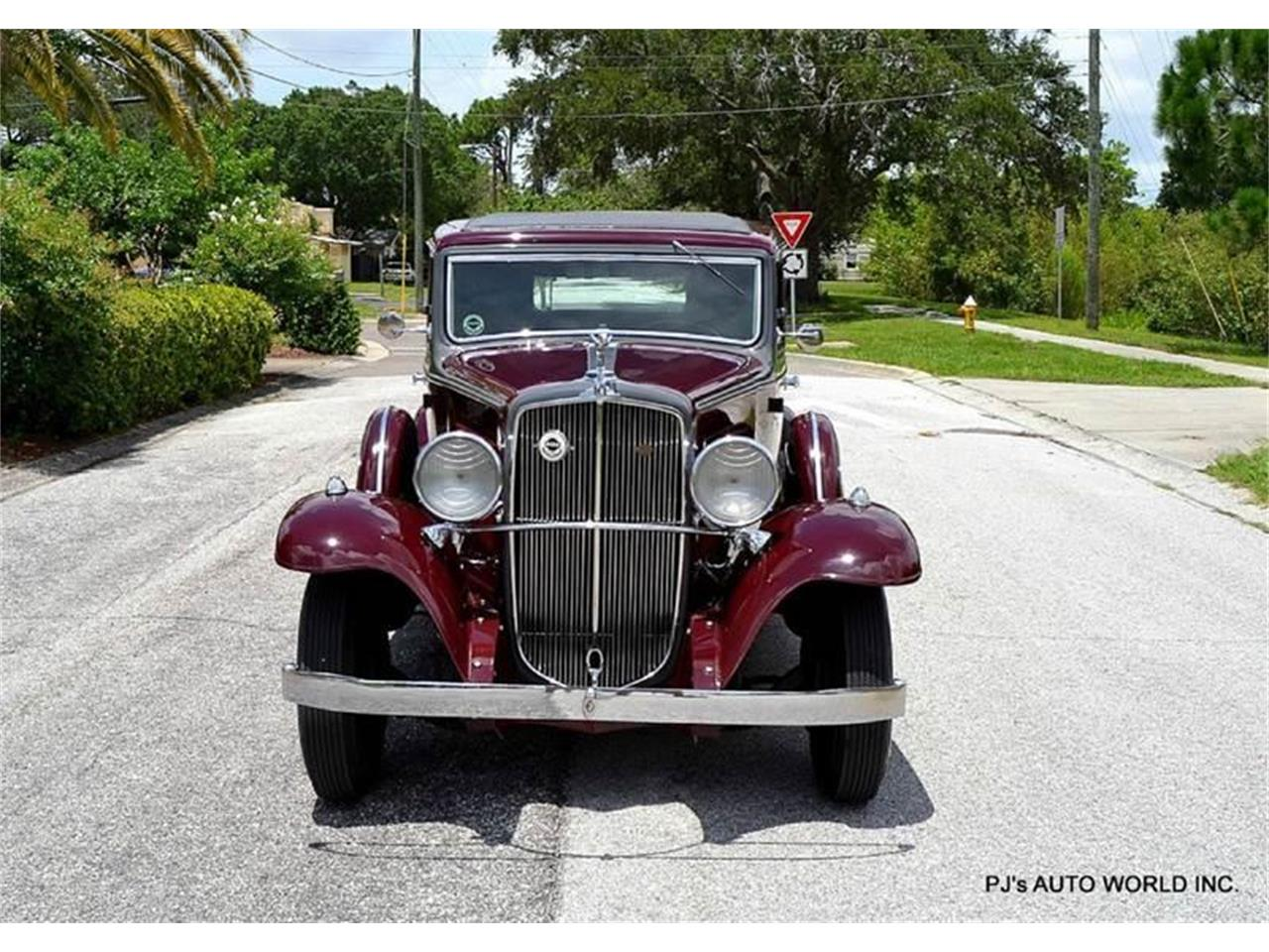 Large Picture of 1933 Nash Big Six located in Clearwater Florida - $42,900.00 - F0A2