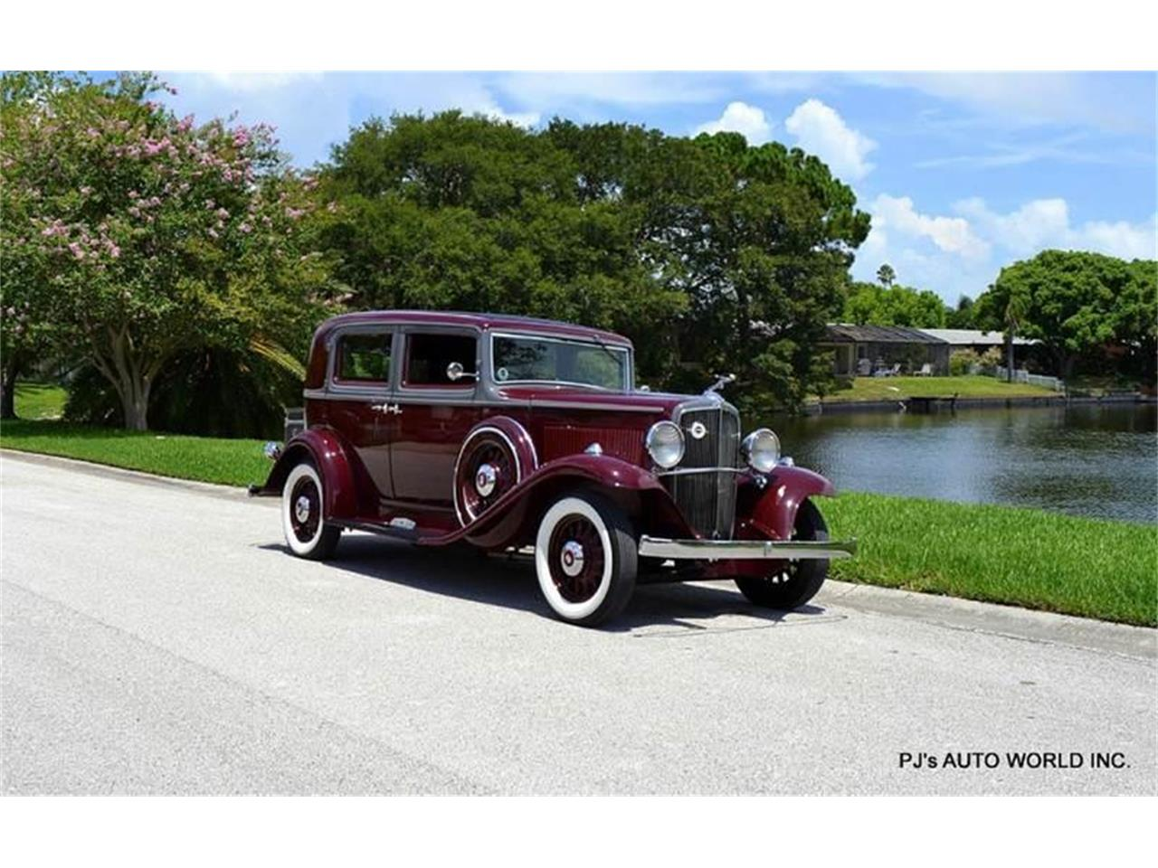 Large Picture of Classic 1933 Nash Big Six - F0A2