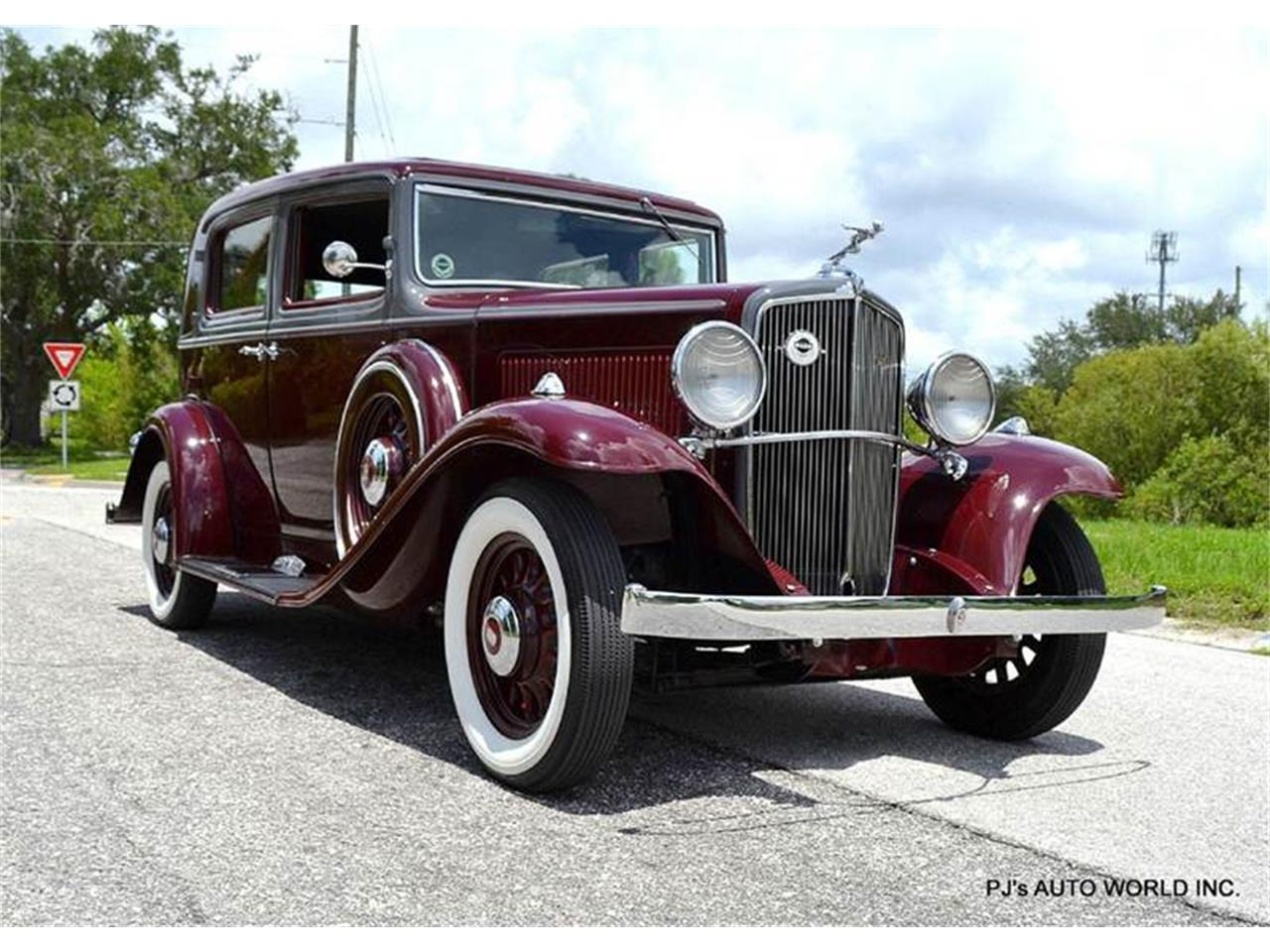 Large Picture of 1933 Nash Big Six located in Florida Offered by PJ's Auto World - F0A2