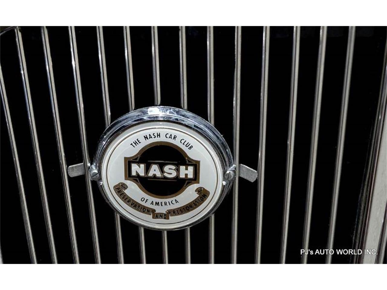 Large Picture of '33 Nash Big Six - F0A2