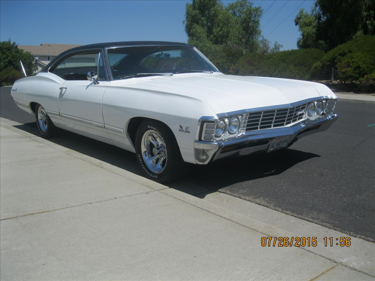 Large Picture of 1967 Chevrolet Impala located in California - F1YH
