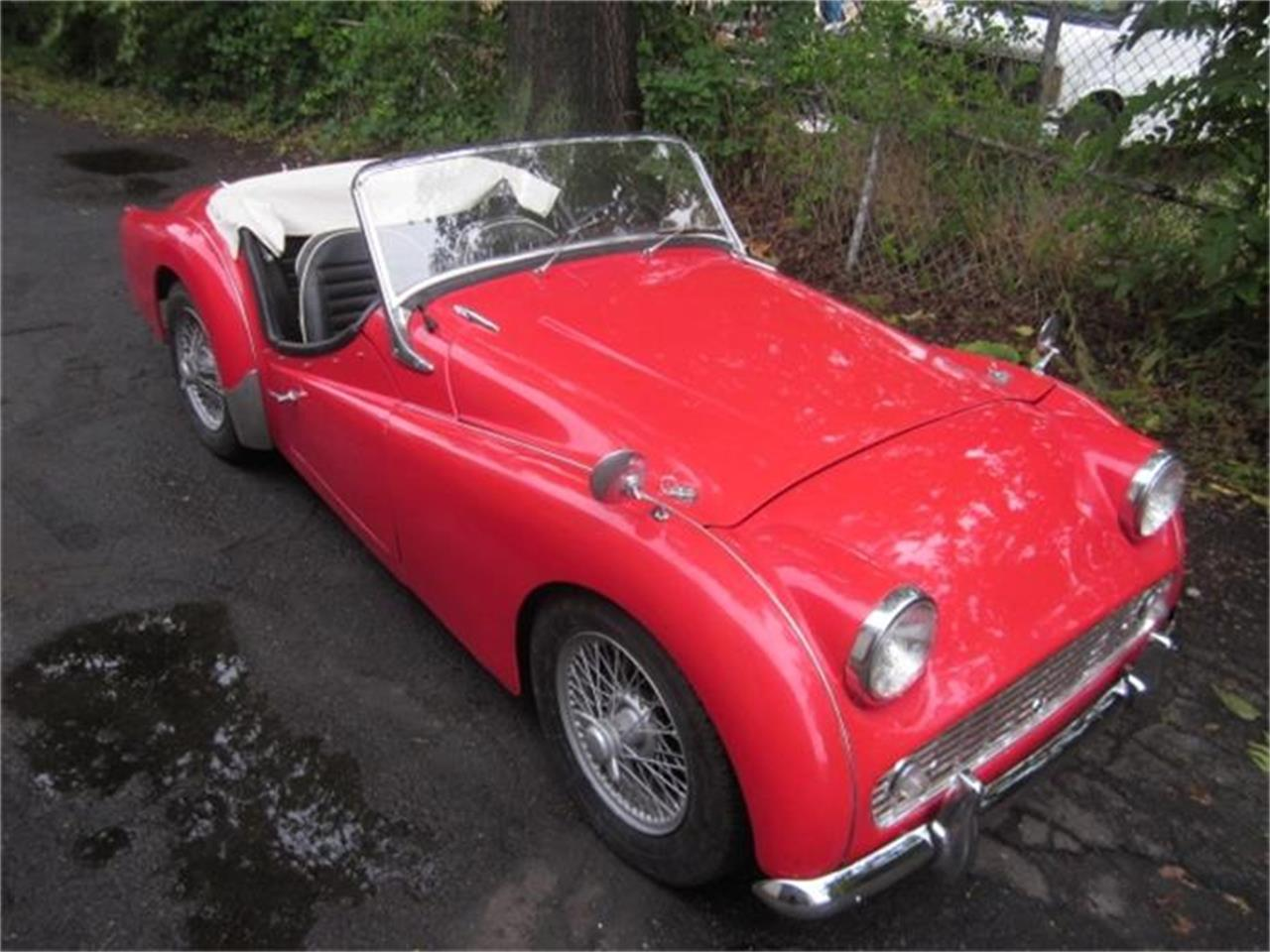 Large Picture of 1960 Triumph TR3A located in Connecticut - $23,900.00 Offered by The New England Classic Car Co. - F3WU