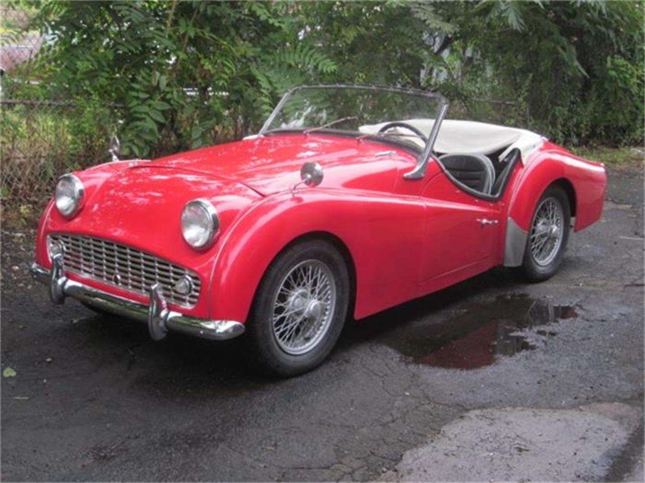 Large Picture of 1960 Triumph TR3A located in Stratford Connecticut - $23,900.00 Offered by The New England Classic Car Co. - F3WU