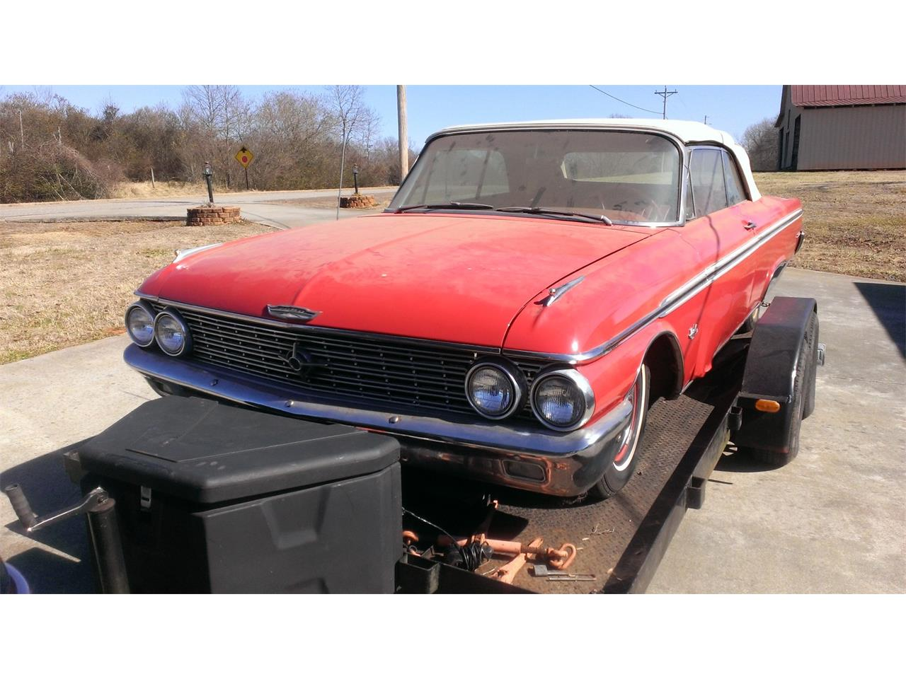 Large Picture of '62 Ford Sunliner Offered by a Private Seller - F46R