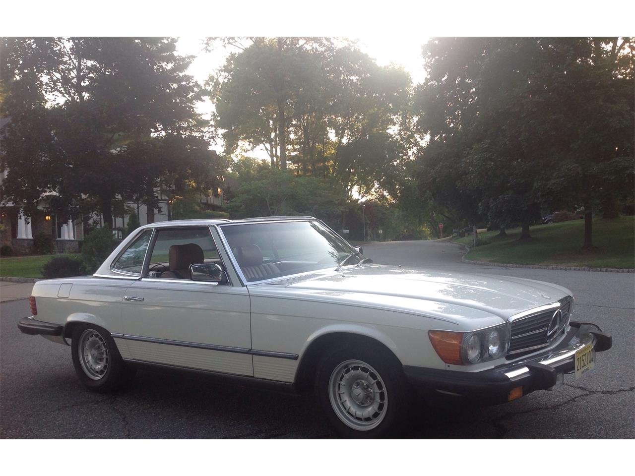 Large Picture of '84 380SL located in Morristown New Jersey - F4UW