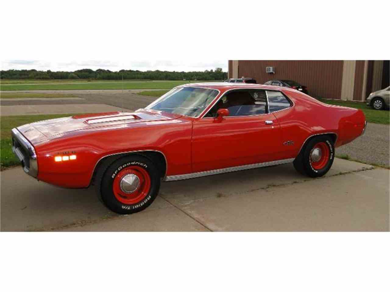 Large Picture of Classic 1971 Plymouth GTX located in Prior Lake Minnesota - $64,900.00 Offered by Big R's Muscle Cars - F6UL