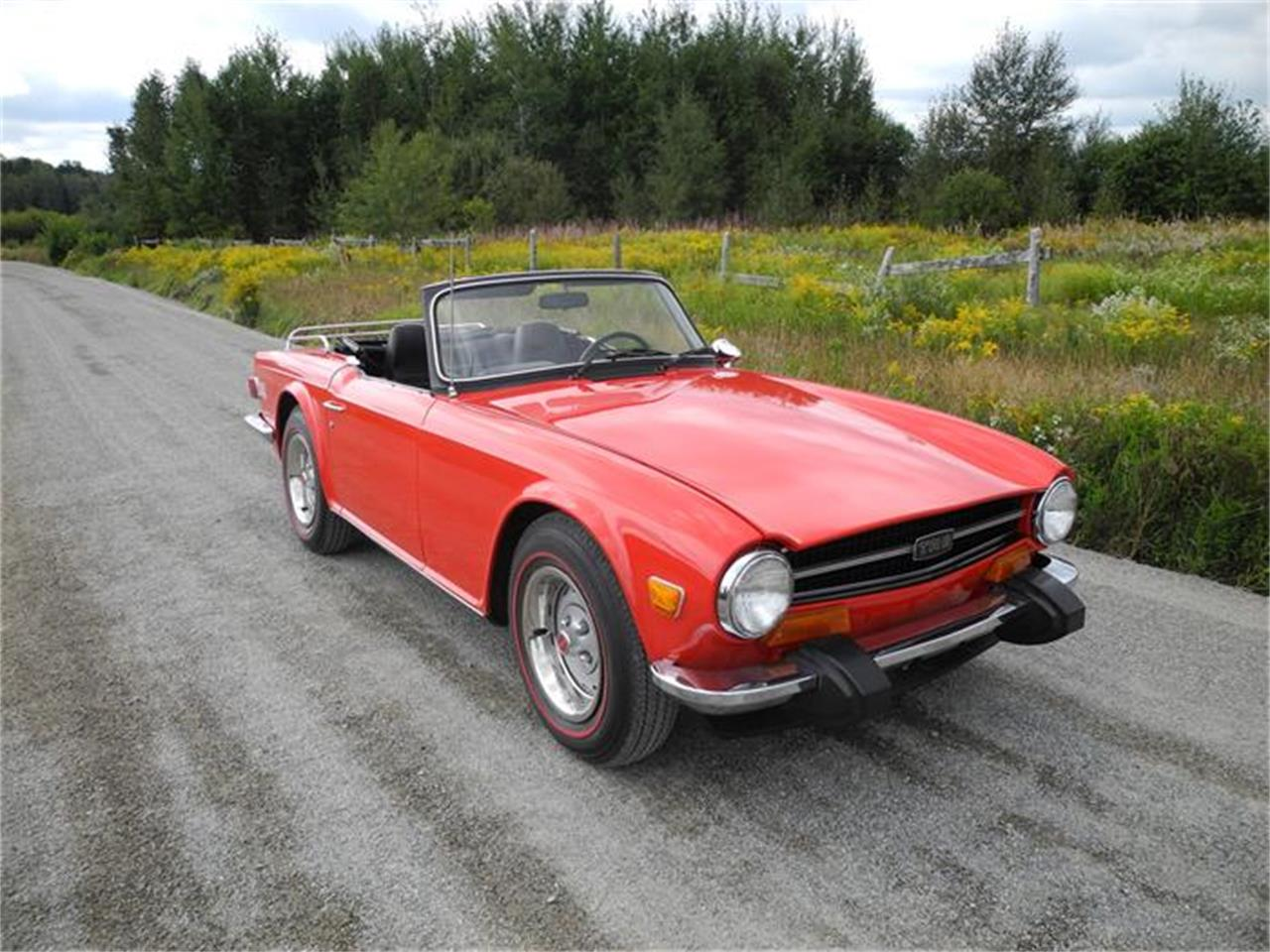 Large Picture of '74 TR6 - F9C2