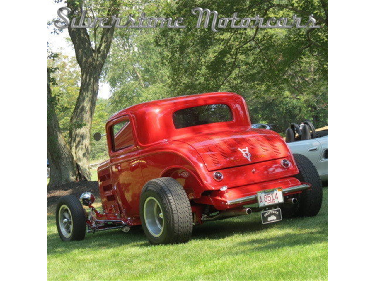 Large Picture of 1932 Ford 3-Window Coupe located in North Andover Massachusetts Offered by Silverstone Motorcars - FAHW
