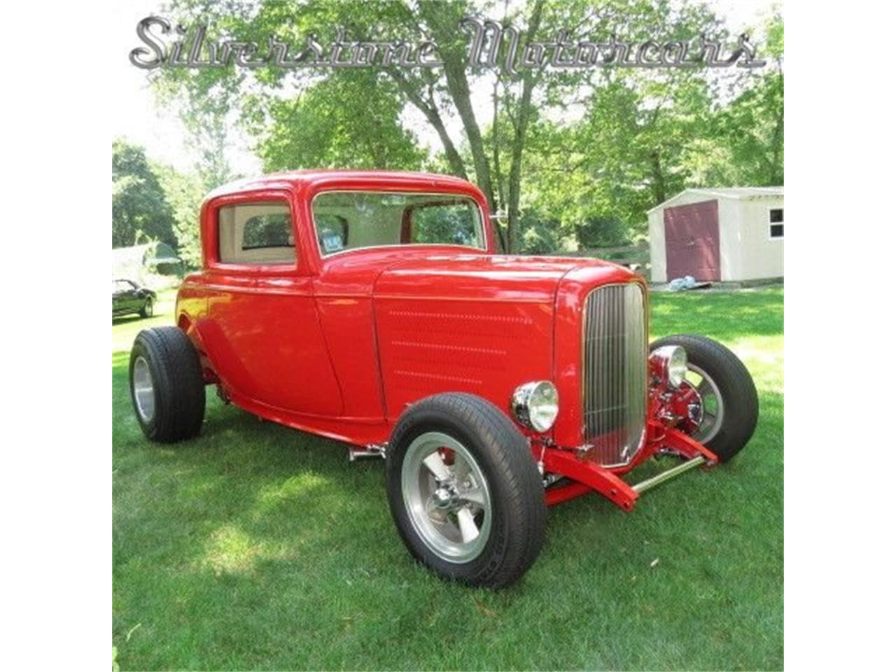 Large Picture of Classic '32 Ford 3-Window Coupe located in Massachusetts - $45,000.00 Offered by Silverstone Motorcars - FAHW